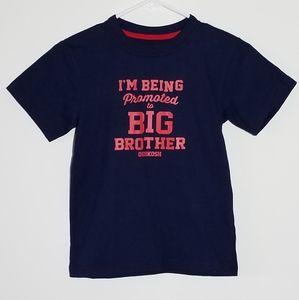 Oshkosh Promoted to Big Brother Shirt 8